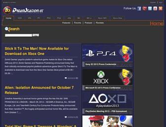 Main page screenshot of dreamstation.cc