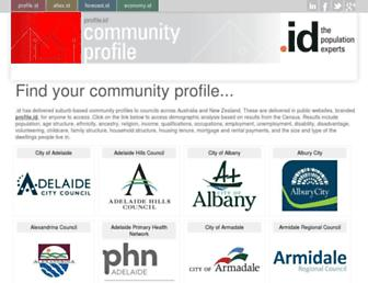 profile.id.com.au screenshot
