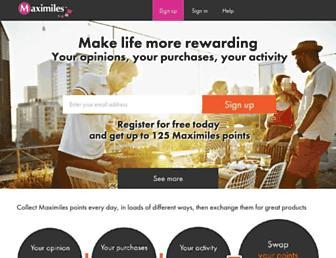 Thumbshot of Maximiles.co.uk