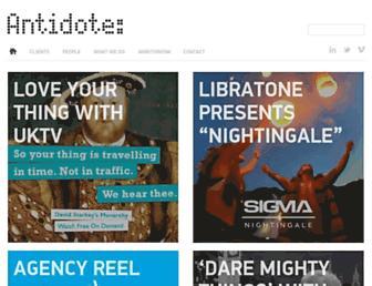 Thumbshot of Antidote.co.uk