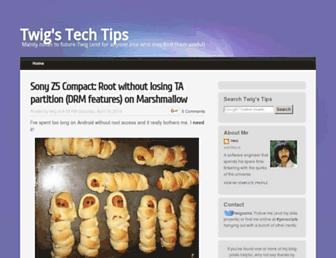 twigstechtips.blogspot.com screenshot