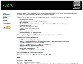 x3270.bgp.nu screenshot