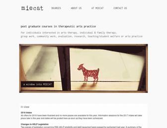 miecat.org.au screenshot
