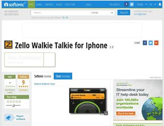 zello-walkie-talkie.en.softonic.com screenshot
