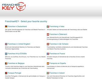 franchisekey.com screenshot
