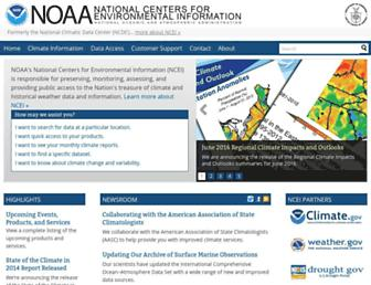 ncdc.noaa.gov screenshot