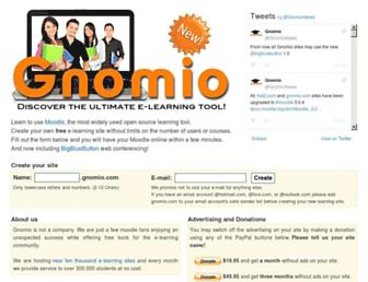 Thumbshot of Gnomio.com
