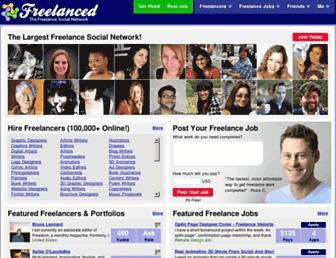 Thumbshot of Freelanced.com