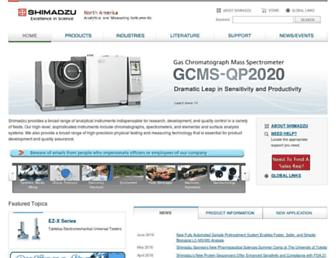 ssi.shimadzu.com screenshot