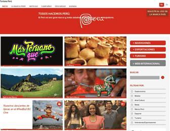 peru.info screenshot