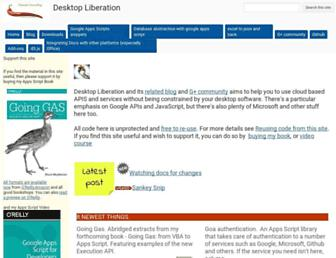 ramblings.mcpher.com screenshot