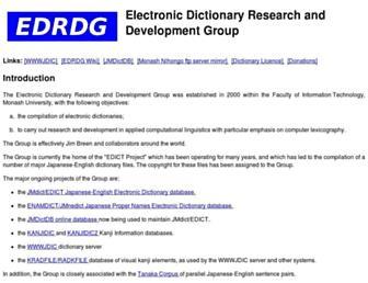 Thumbshot of Edrdg.org