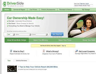 driverside.com screenshot