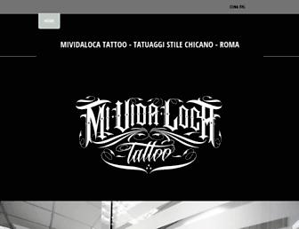mividaloca-tattoo.com screenshot