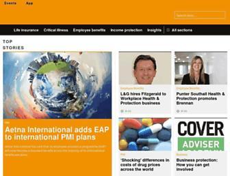 covermagazine.co.uk screenshot