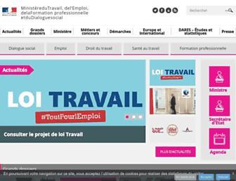 Thumbshot of Emploi.gouv.fr