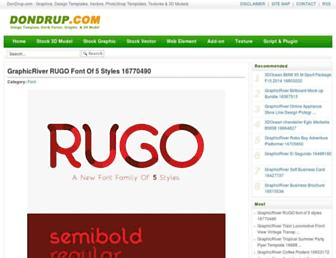 dondrup.com screenshot