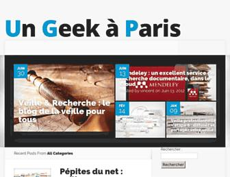 Thumbshot of Ungeekaparis.fr