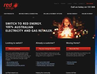 redenergy.com.au screenshot