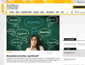 xn--klker-kva.hu screenshot