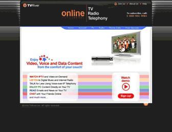 tvriver.com screenshot