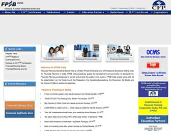 fpsbindia.org screenshot