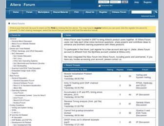 alteraforum.com screenshot