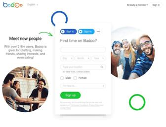 Thumbshot of Badoo.com
