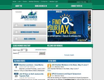 myjaxchamber.com screenshot