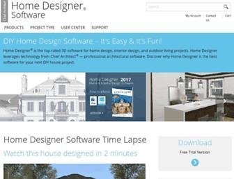 homedesignersoftware.com screenshot