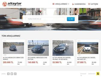 altaylarotomotiv.com screenshot