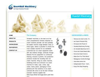 Thumbshot of Snowballmachinery.com
