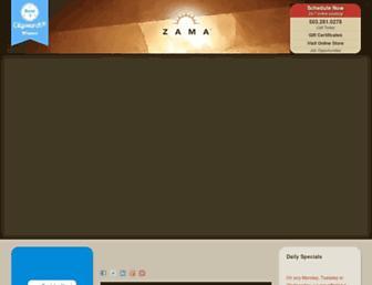 zamamassage.com screenshot