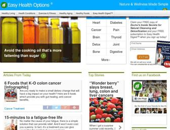 Thumbshot of Easyhealthoptions.com