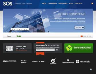 sos.net.ve screenshot