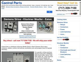 controlparts.com screenshot