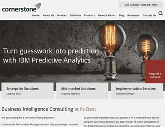 cornerstone.com.au screenshot