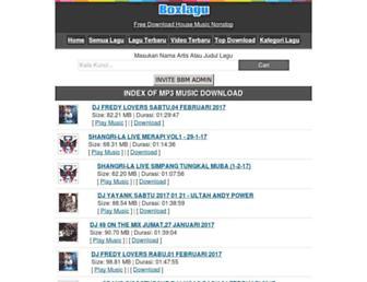 boxlagu.net screenshot