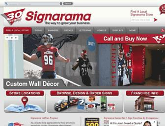 Thumbshot of Signarama.com