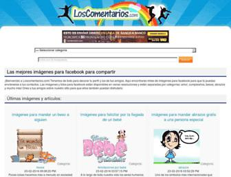 loscomentarios.com screenshot