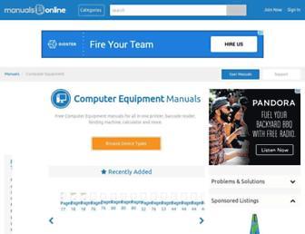 office.manualsonline.com screenshot