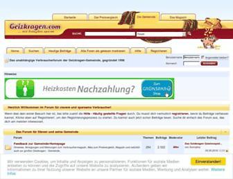 Thumbshot of Geizkragen.com