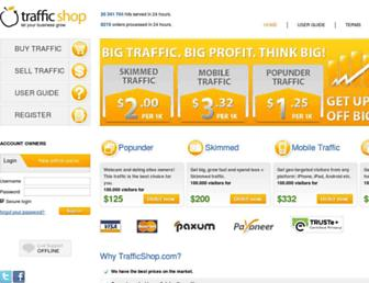 Thumbshot of Trafficshop.com