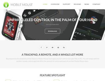 mobilemouse.com screenshot