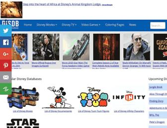 Thumbshot of Disneymovieslist.com