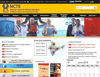 Thumbshot of Ncte-india.org