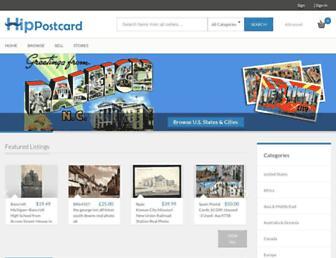 hippostcard.com screenshot