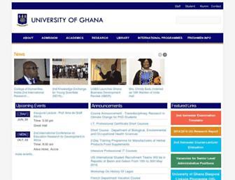 Thumbshot of Ug.edu.gh