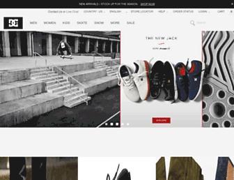 Thumbshot of Dcshoes.com