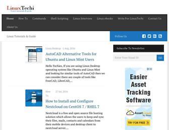 linuxtechi.com screenshot